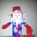 Мастер-класс: поделка из бросового материала «Дед Мороз»