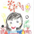 «Моя любимая мама». Детские рисунки к 8 марта. Старшая группа