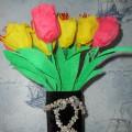 Мастер-класс «Букет тюльпанов»