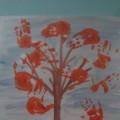 Мастер-класс: коллективная работа «Осеннее дерево». Рисование ладошками с элементами аппликации