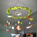 Мастер-класс по созданию подвесной композиции для украшения группы к весне