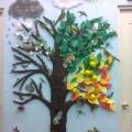 Дерево «Времена года». Совместная работа с детьми