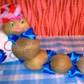 Развивающая детская игрушка «Змейка» из круп