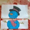 Дидактическая игра для детей раннего возраста «Собери снеговика»
