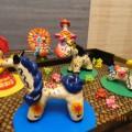 Конспект открытой НОД по художественно-эстетическому развитию «Роспись дымковской глиняной игрушки «Козлик»