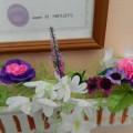 Мастер класс по изготовлению цветов из цветной крепированной бумаги.
