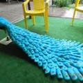 Мастер-класс для педагогов ДО по изготовлению «Павлина» из пластиковых бутылок для оформления территории в ДОУ