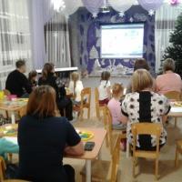 Мастер-класс по лепке в технике «пластилинография» для родителей с детьми старшего дошкольного возраста «Елочка нарядная»