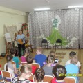 Фотоотчет о встрече учеников музыкальной школы и наших дошколят