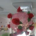 Мастер-класс «Шары с цветами»