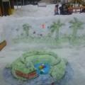 Снежные постройки на участке группы №6-фотоотчет