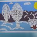 «Зимняя сказка» (Детское творчество). Фотоотчет