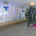 Новогоднее оформление музыкального зала «Ледяной лес»