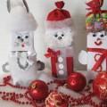 Мастер-класс «Упаковка для подарка— Дед Мороз»