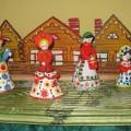 Конспект занятия по знакомству детей средней группы с русским народным творчеством. Тема: «Весёлая ярмарка»