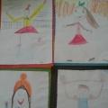 Конспект рисования цветными карандашами в подготовительной группе «Мы будем спортом заниматься!»