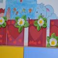 Мастер-класс по изготовлению поздравительной открытки «Валентинка»