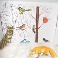 Макет «Животные и птицы зимой»