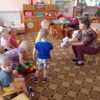 Конспект образовательной деятельности в первой младшей группе «Игрушки в гостях у ребят»
