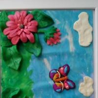 Мастер-класс по работе с пластилином «Краски лета»