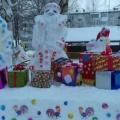 Фотоотчет «Снежные постройки, в подарок подарили.»