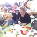 Создание макетов совместно детьми и родителями