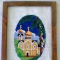 Вышивка крестом «Золотые купола»