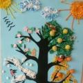 Дидактическое панно «Дерево «Времена года»
