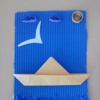 Мастер-класс «Подарок папе к 23 февраля. Открытка в технике квиллинг»
