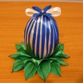 Мастер-класс «Пасхальное яйцо из атласных лент».
