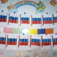 Конспект интегрированного занятия в подготовительной группе на тему: «Флаг России»