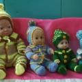 Мастер-класс по вязанию «Оденем кукол»
