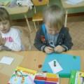 Творчество детей средней группы в вечернее время (фотоотчет)