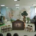 Театрализованная деятельность в детском саду. Фотоотчёт об инсценировке сказки «Теремок» (ранний возраст)