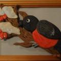 Мастер-класс по мукосольке «Снегирёк» для детей старшей и подготовительной группы