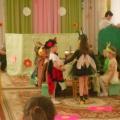 Фотоотчет о театрализованном представлении по мотивам сказки К. И. Чуковского «Муха-Цокотуха» (старшая группа)