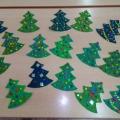 Мастер-класс «Ай, да ёлочка-краса!» Изготовление новогодней поделки с детьми средней группы