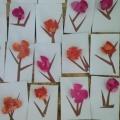 Аппликация «Веточка весеннего цветка»