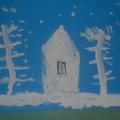 Фотоотчет «Художественное творчество на тему «Зима»