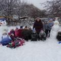 Фотоотчет «Здравствуй, здравствуй, Снеговик!»