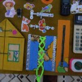 Развивающая игрушка «Бизиборд» своими руками