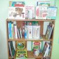 Уголок детской книги подготовительной к школе группы