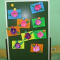 Мастер-класс по объемной аппликации «Цветочек для любимой мамочки!»