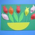 Мастер-класс «Корзинка с цветами для мамы»