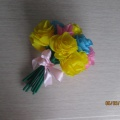 Мастер-класс «Весенний букетик». Изготовление цветов из гофрированной бумаги