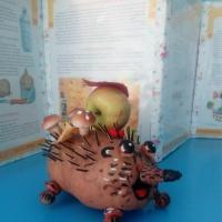 Фотоотчет о выставке поделок из природного материала «Осенняя фантазия»