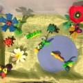 Пластилиновые фантазии. Композиция «Лесная полянка»