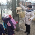 Цикл наблюдений на прогулке в рамках реализации акции «Покормим птиц»