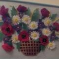 Картина для оформления группы, холла детского сада «Корзина с цветами»