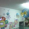 Новогоднее украшение групповой комнаты и фойе детского сада